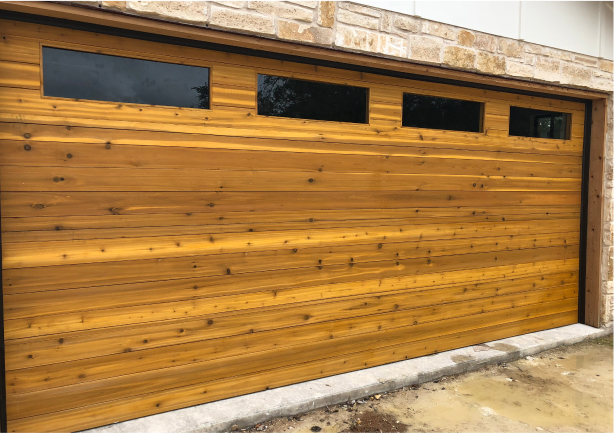 Custom Wooden Garage Door
